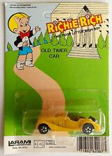 "Vintage 1981 Richie Rich Old Timer Car ""Morgan Plus 8"" Larami Corp. Die Cast MOC"
