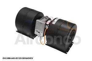 Spal Centrifugal Blower Fan, 008-A45-02, 3 Speed, 12v - Genuine Product!