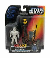 Star Wars Power of The Force Deluxe Crowd Control Stormtrooper Action Figures
