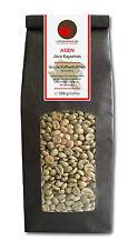 Rohkaffee - Grüner Kaffee Java Kayumas (grüne Kaffeebohnen 500g)