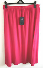 M&S SIZES 12 16 18 OR 22 PINK FULLY LINED SKIRT TAGS FREE POSTAGE
