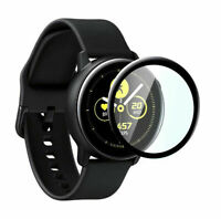 For Samsung Galaxy Active Smart Watch 3D Curved Tempered Protector Film Scr O0F3