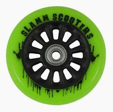 Slamm - Nylon Core Wheels - 100mm - Green- Scooter Wheels ***One Wheel***