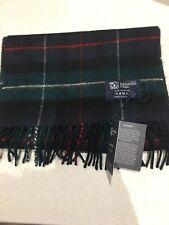 Johnstons of Elgin Cashmere Scarf Warm Mackenzie Tartan check soft cosy pure new