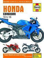 Haynes Manual De Taller Para Honda Cbr Cbr600 Cbr600rr 2003 Al 2006