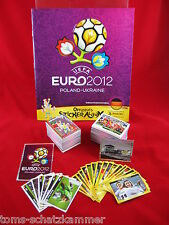 Panini Euro 2012 Set Complete + Soft Cover Album + New = all stickers em 12