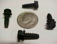 300 #8 x 7/16 Hex Head Plastic Screws Electronics Hardware External Lock Washers