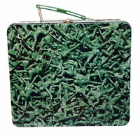 Army Men Lunch Box Soldier Collectible Tin Lunchbox Buy Design Studios, NEW 14+