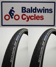 PAIR 700 X 35c SCHWALBE DELTA CRUISER ROAD PLUS Cycle / Bike Tyres 37-622