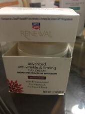Rite Aid Renewal Anti-Wrinkle & Firming Face/Neck Contour Cream, Moisturize, 1.7
