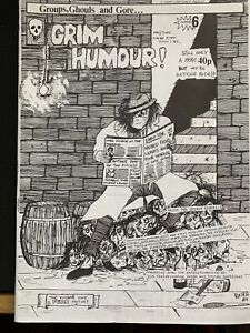 Grim Humour Punk Fanzine 1985 #6 The Membranes Furyo And Also The Trees