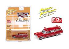 Johnny Lightning Cadillac Ambulance Red 1966 Limited 3,600 Pcs Jlcp7351 1/64