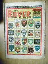 Comic-THE ROVER, No.1510, 5th June 1954; ANOTHER COLOURFUL BUNCH OF SCHOOL BADGE