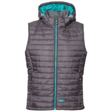 Ladies Trespass Aretha Light Padded Bodywarmer - Carbon