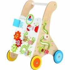 Legler Wooden Baby Walker Vivid Colours