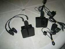 2 X  Plantronics C054A  Wireless Headset system.