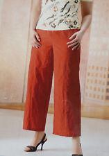 Hose Jacke Damen Übergröße orange einzeln oder als Set Gr 46 48 50 52 54