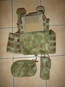 Emerson LBT Copy Plate Carrier w/ extras ATACS FG Vest JPC Army Tactical