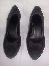 Nine West Black Brazil Soft Stiletto heels with Bow Women's size 9 M EUC
