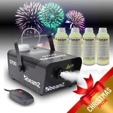 Beamz Smoke Mist Machine + Fog Fluids Halloween Party Atmospherics Effects 700W