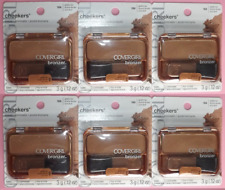 6 x COVERGIRL CHEEKERS Bronzer ~ #104 GOLDEN TAN ~ WHOLESALE Lot of 6 CARDED