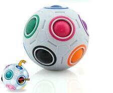 2017 Pop Rainbow Magic Ball Plastic Cube Twist Puzzle Toys For Teenagers Adult Q