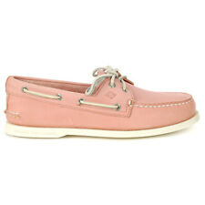 Sperry Top-Sider Men's Authentic Originals Leather Washed Red Boat Shoes STS1...