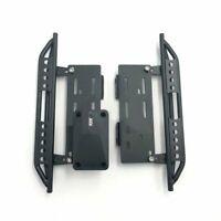 1Paar Metall Side Pedal Plate Für 1:10 RC Crawler Axial SCX10 SCX-10ll RC Modell