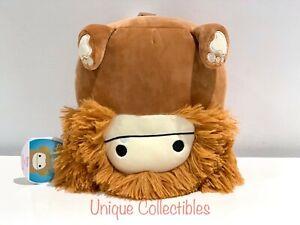 "Squishmallows Benny the Bigfoot 8"" Plush Brand NEW Genuine KellyToy Rare HTF"