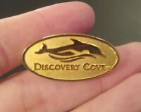 SEAWORLD DISCOVERY COVE Goldtone Dolphins Amusement Park COLLECTOR'S PINS