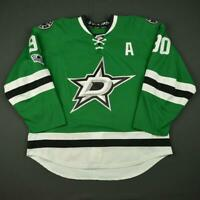 2016-17 Jason Spezza Dallas Stars Game Used Worn Hockey Jersey MeiGray