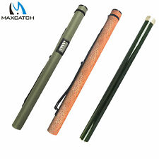 Maxcatch Green Cordura Rod Case Fly Fishing Rod Tube for 9/10Ft Fly Rod