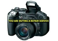 CANON S5 IS S5IS REPAIR SERVICE for your Digital Camera with a 60/Day Warranty