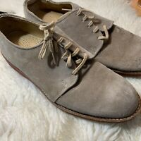 Cole Haan Summer Buck Men's Brown Suede Leather Oxford Shoes Sz 8.5M Maine USA