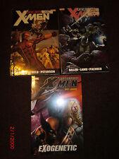Uncanny Astonishing X-men Hc 1 2 Exogenetic Wolverine Psylocke Deadpool