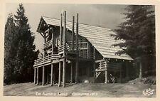 Vintage RPPC - Pilchuck Lodge - Washington - Noted Photographer