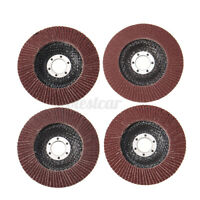 10PCS 5'' Flap Discs 125MM Sanding 40 60 80 100 120Grit Grinding Wheels Discs