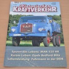 Historischer Kraftverkehr HIK 2/16 MAN 520HK 10.212 Opel Bedford Blitz Mercedes