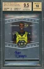 2013 leaf metal draft #atats1 TYRONE SWOOPES rookie card BGS 9.5 (9.5 9.5 9.5 9)