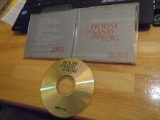 RARE PROMO House of Sand & Fog CD soundtrack score JAMES HORNER 4 Consideration
