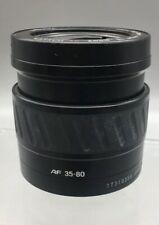 Minolta AF 35-80mm 1:4(22)-5.6 Zoom Lens For Minolta/Sony mount shutter cap A10