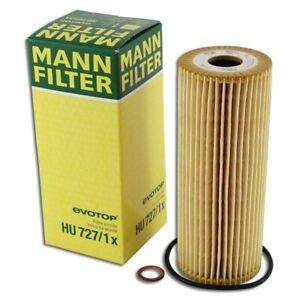 Mann Filter Oil Filter HU727/1x fits Mercedes C-CLASS W203 C 180