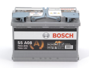 HEAVY DUTY BOSCH CAR BATTERY FOR NISSAN S5A08