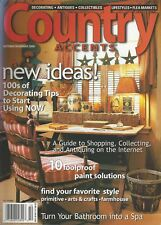 COUNTRY ACCENTS (Oct/Nov 2000) Primitive, Arts & Crafts or Farmhouse Style~F660