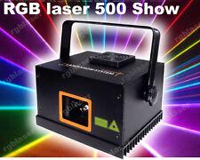 500mW RGB ILDA DMX512 American Club DJ Party Laser stage lighting Full Color