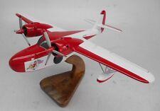 G-21A Model Goose Grumman USA Transport Airplane Mahogany Dried Wood Model Small