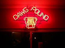 "New Dawg Pound Neon Light Sign 24""x20"" Lamp Poster Real Glass Beer Bar"