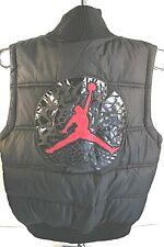 AIR JORDAN Puffer Vest  RED/BLACK Kid's Size Small (8-10 Years)