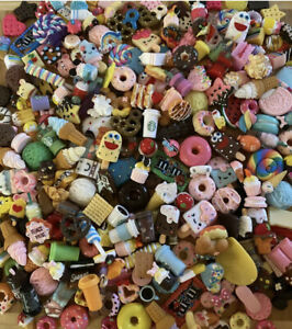 updated 4/2/21 Assorted Kawaii Resin Sweet Cabochons Slime Charms Decoden Fun