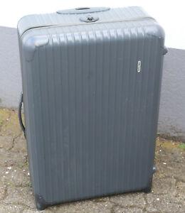 Rimowa Koffer - Trolley Reisekoffer aus Polycarbonat/ Kunststoff in grau